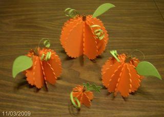 Scalloped pumpkins
