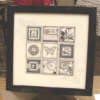 Lns_stamp-fair-project_black-white-framed-art